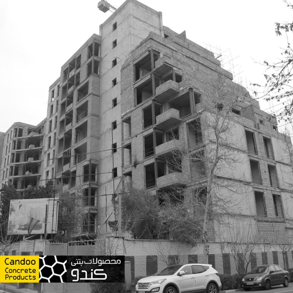 پروژه مسکونی بانک ملت